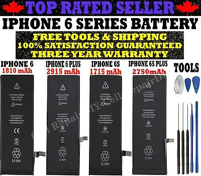 Brand New Battery Compatible For iPhone 6 6 Plus 6S 6S Plus with Free Tools