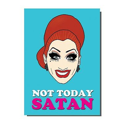 Bianca Del Rio Drag Race Queen Greetings Birthday Card