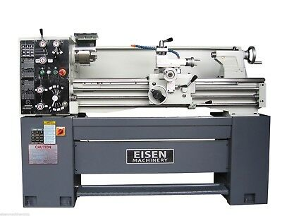 """EISEN 1440E 14"""" x 40"""" Precision Engine Lathe with DRO and 2-speed motor, 4P/6P"""