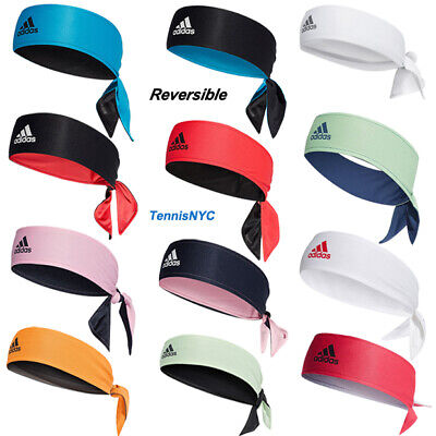 ADIDAS Reversible Tennis Headband Red   Black d046e425d47