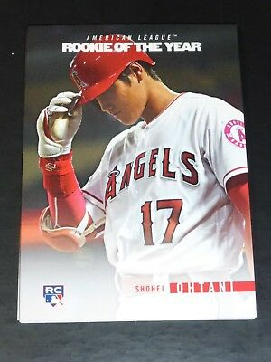 2018 Topps On Demand Rookie Of The Year Tribute Sp Roy Card~ Shohei Ohtani #2