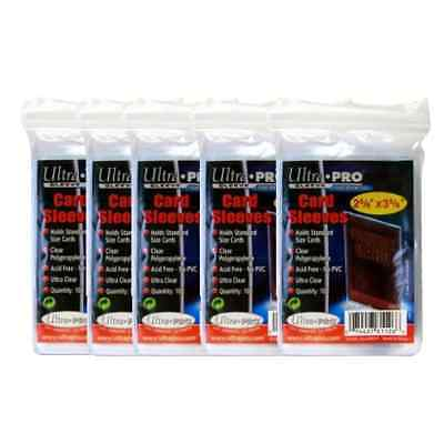 Ultra Pro 500 soft Penny Sleeves, Free shipping, Clear Acid Free