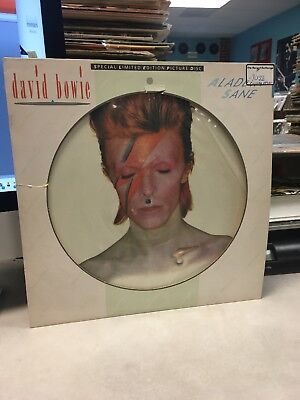 David Bowie ~ Aladdin Sane ~ Picture Disc ~ Limited Edition ~ Glam