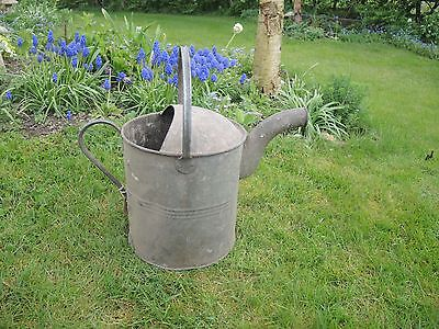 Unusual Shaped  2 Gallon Vintage  Metal Watering Can  (958)