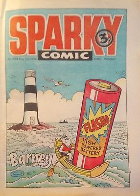 Sparky Comic No. 498 from August 3rd 1974