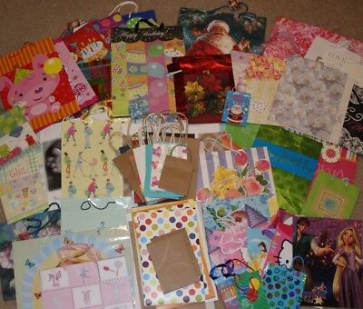 Lot of 75 gift bags boxes Christmas wedding baby birthday Hallmark Target