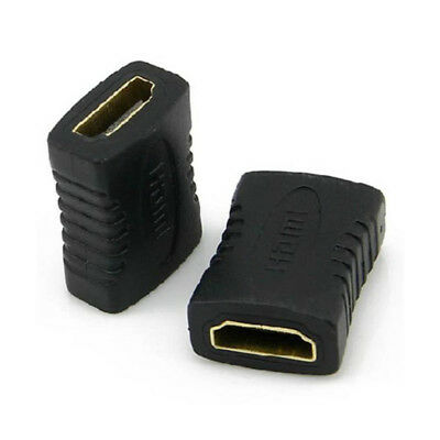 Female to Female Connector Extender HDMI Cable Cord Extension Adapter-Converter/