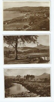 Postcard Collection Arran Brodick & Whiting Bay Kings Cross  RP