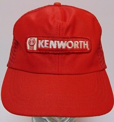 89f6c62d Old Vintage 1980s KENWORTH TRUCKING PATCH SNAPBACK TRUCKER HAT CAP MADE IN  USA