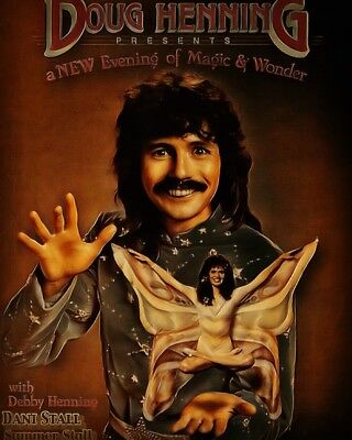 DOUG HENNING 8×10 Mounted Ready to hang 3D Board by Dani Stall (Limited to 100)