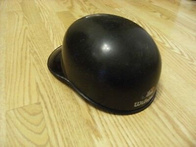 Wilson Catchers Old School Skull Cap Adult One Size Fits All Black Used
