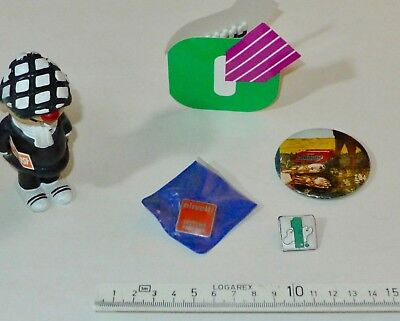 rare Olivetti Anstecker / pins _ advertising gifts #3