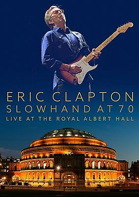 ERIC CLAPTON New Sealed LIVE 70th BIRTHDAY CONCERT DVD & 2 CD SET