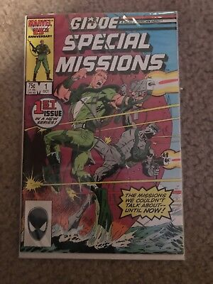 G.I. Joe Special Missions #1 (Oct 1986, Marvel)