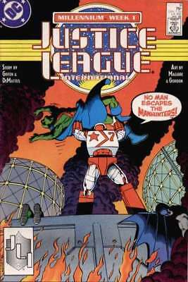 Justice League (1987 series) #9 in Near Mint condition. DC comics [*rm]