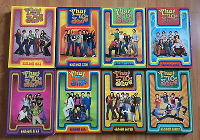 That 70's Show Seasons 1 2 3 4 5 6 7 8 -- COMPLETE SERIES