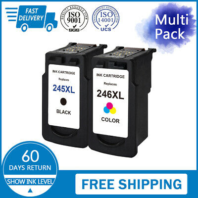 PG-245XL Black CL 246 XL Color Ink Cartridge for Canon PIXMA MG2522 MG2920