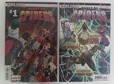 Vault of Spiders #1-2 MARVEL Complete Set Lot Run NM Spider-Geddon