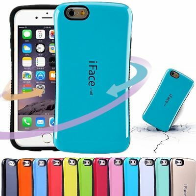 Heavy Duty iFace Shockproof TPU Hard Case Cover For Apple iPhone 6/6S/7/8 Plus