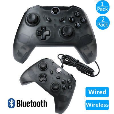 1x 2x Wireless Pro Controller Gamepad Joypad Remote for Nintendo Switch Console