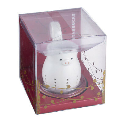Starbucks 2019 Chinese Lunar New Year Pig tea infuser for mug/tumbler/cup rare