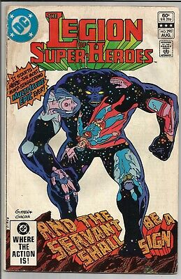 The Legion of Super-Heroes #290 August 1982 DC Comics Nice Shape