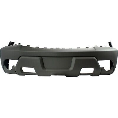Front Bumper Cover For 2002 Chevy Avalanche 1500 w/ fog lamp holes Textured