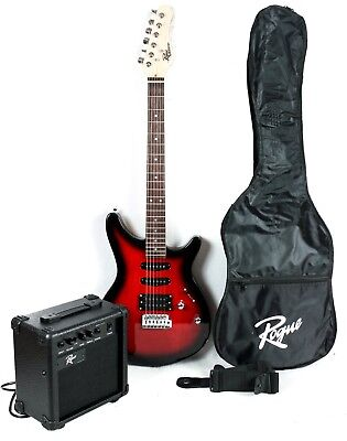 Rogue Rocketeer Electric Guitar Pack Red Burst 11400 Picclick