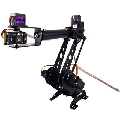 S6 6DOF Mechanical Robot Arm Clamp Claw Manipulator Kit for Arduino Robotic