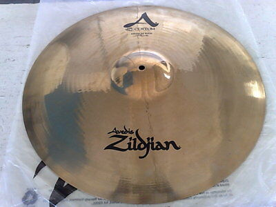 "Crash Ride Zildjian Avedis Custom Brillante Da 20""/51Cm Usato 1 Volta-Come Nuovo"