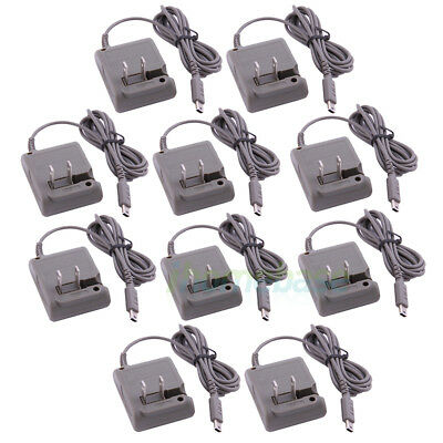 10x AC Wall Home Travel Charger Supply Adapter For Nintendo DS Lite DSL NDSL