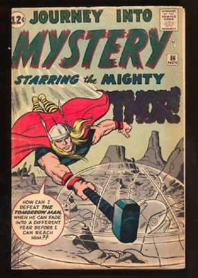 Journey into Mystery (1952 series) #86 in VG condition. Marvel comics [ ap]