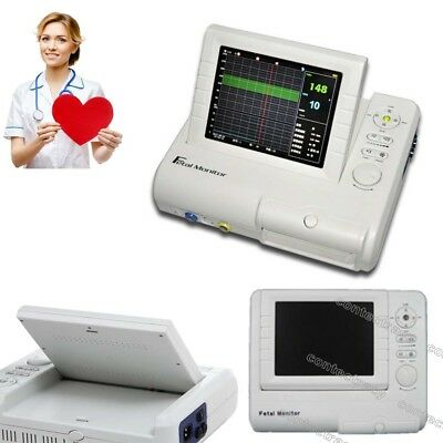 Color LCD 24 hours Fetal Monitor Ultrasound FHR TOCO Fetal Movement,Record paper