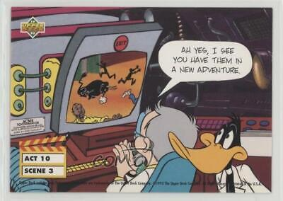 1993 Upper Deck Adventures in 'Toon World Ah Yes I See You Have Them Card