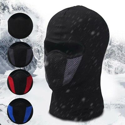 Outdoor Windproof Ski Motorcycle Cycling Balaclava Full Face Neck Mask Scarf Hat