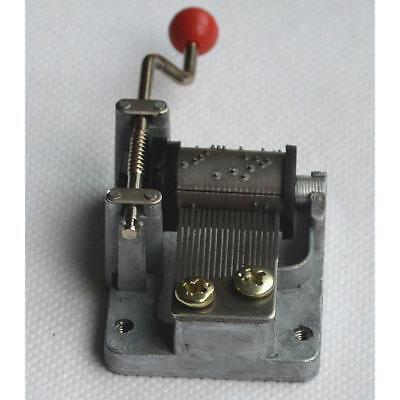 HAND CRANK MUSIC Box Wind Up Melody Movement Mechanism