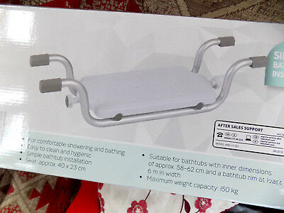 NEW Bath tub seat For Elderly, Disabled Handicapped Seat