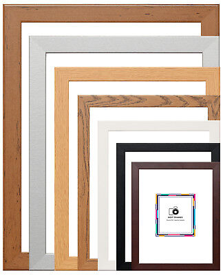 Picture Frames Various Sizes & Colours Photo Frame Wood Effect Poster Frames