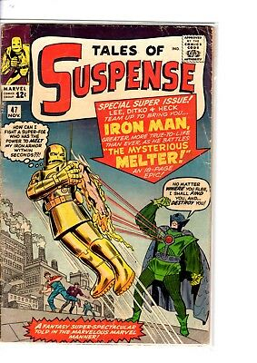 Tales of Suspense # 47  The Mysterious Melter scarce book !!