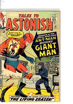 tales to astonish 49... first giant man good