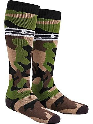New Axo Adult Knee Length Camo Thick Socks Motocross Mx Enduro Trials Ktm Kx Yz