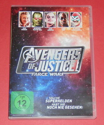 Avengers of Justice: Farce Wars -- DVD
