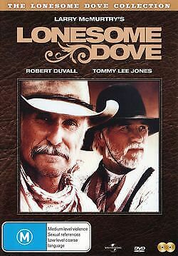 Lonesome Dove COLLECTION  The Mini Series 2 Disc Set New Region 4 NEW AND SEALED