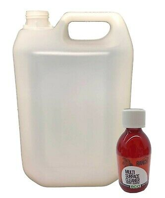 Ranch Sanitiser Disinfectant - 250ml ECO & Empty 5L Container - Cherry