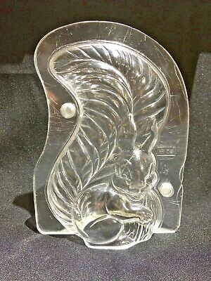 Professional polycarbonate chocolate mould Hans Brunner 59 - Squirrel