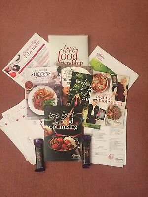 Slimming World Starter Pack 2018 Plus Extra Book , 7 Day Plans And Hifi Bars