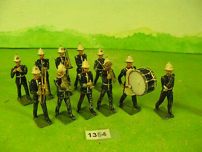 vintage britains lead soldiers marines band to restore 1354