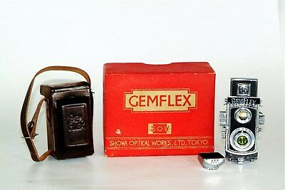 """Rare GEMFLEX SUBMINIATURE TLR """"The smallest Real TLR ever made"""" Complete Outfit"""