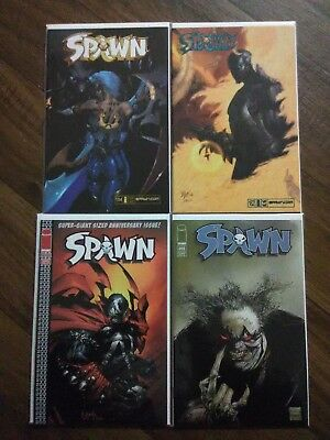 Spawn Lot - Immaculate NM - NM+ Condition (Low Print Issues)