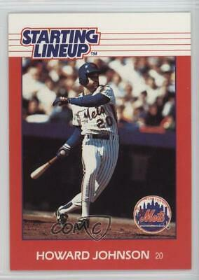 1988 Farmland Dairy New York Mets Hojo Howard Johnson